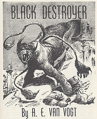 Black Destroyer illustrated by Kramer