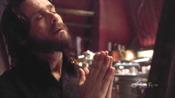 Gaius Baltar, in a spiritual mood